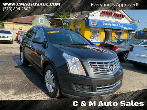 2016 Cadillac SRX for sale at C & M Auto Sales in Detroit MI