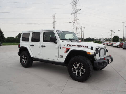 2021 Jeep Wrangler Unlimited for sale at SIMOTES MOTORS in Minooka IL