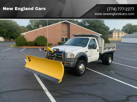 2005 Ford F-450 Super Duty for sale at New England Cars in Attleboro MA