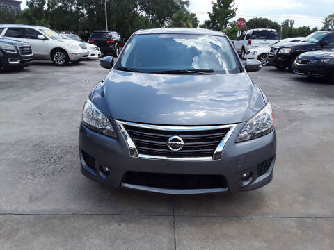 2015 Nissan Sentra for sale at FAMILY AUTO BROKERS in Longwood FL