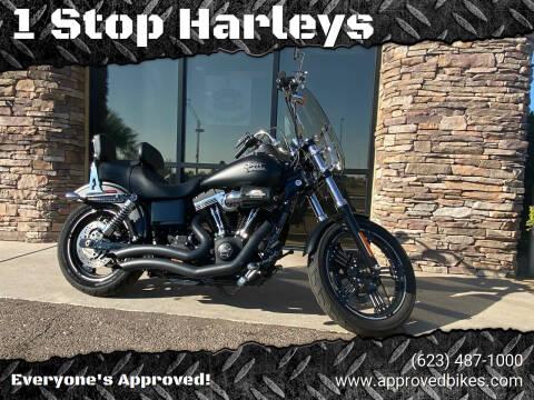 2016 Harley-Davidson FXDB Street Bob for sale at 1 Stop Harleys in Peoria AZ