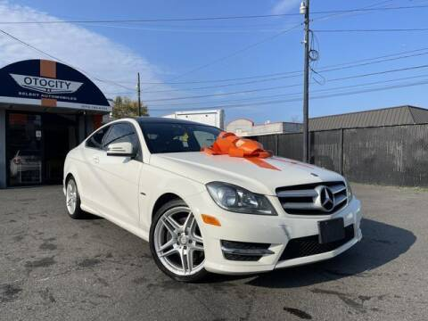 2012 Mercedes-Benz C-Class for sale at OTOCITY in Totowa NJ