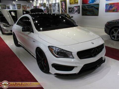 2014 Mercedes-Benz CLA for sale at The New Auto Toy Store in Fort Lauderdale FL
