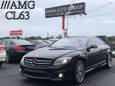 2008 Mercedes-Benz CL-Class for sale at Divan Auto Group in Feasterville PA