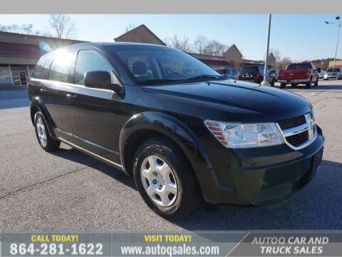 2010 Dodge Journey for sale at Auto Q Car and Truck Sales in Mauldin SC