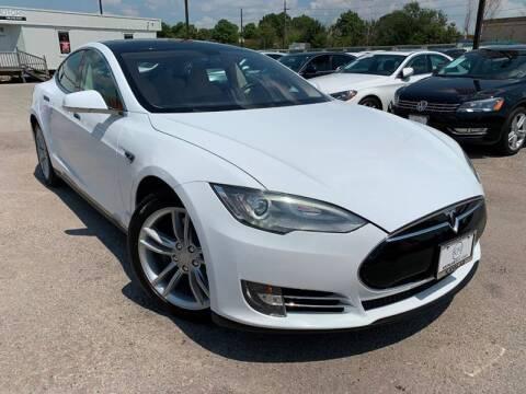 2013 Tesla Model S for sale at KAYALAR MOTORS in Houston TX
