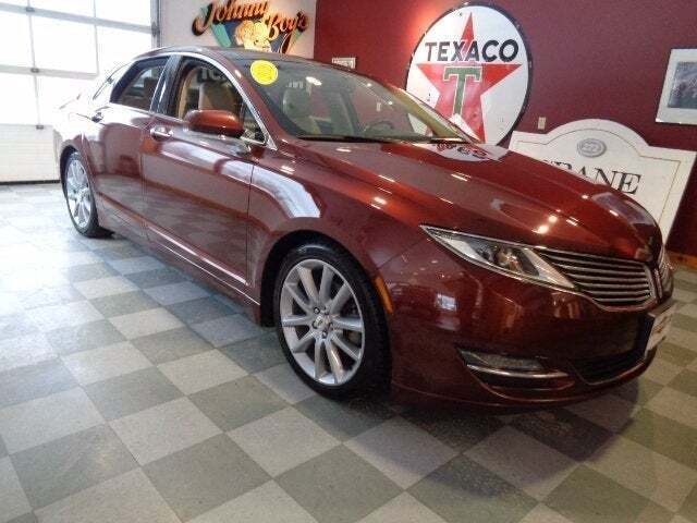 2016 Lincoln MKZ for sale at SCHURMAN MOTOR COMPANY in Lancaster NH