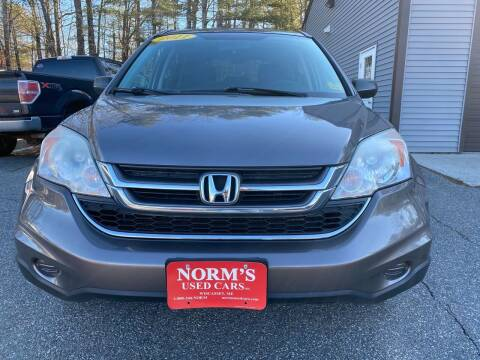 2011 Honda CR-V for sale at NORM'S USED CARS INC in Wiscasset ME