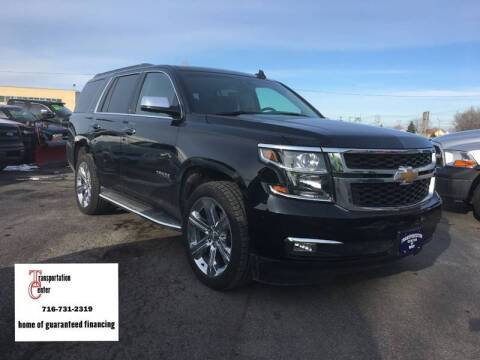 2016 Chevrolet Tahoe for sale at Transportation Center Of Western New York in Niagara Falls NY