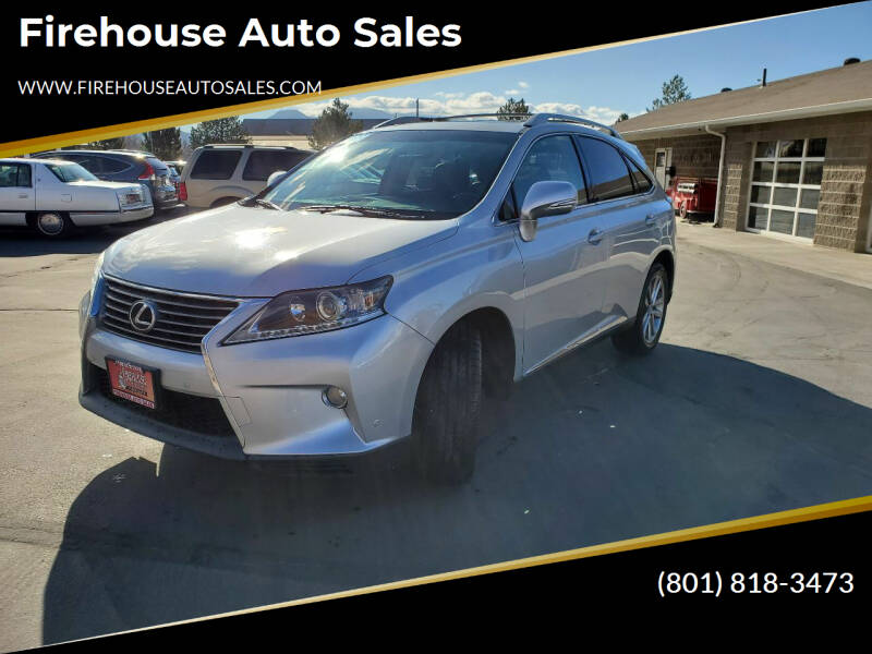 2013 Lexus RX 350 for sale at Firehouse Auto Sales in Springville UT