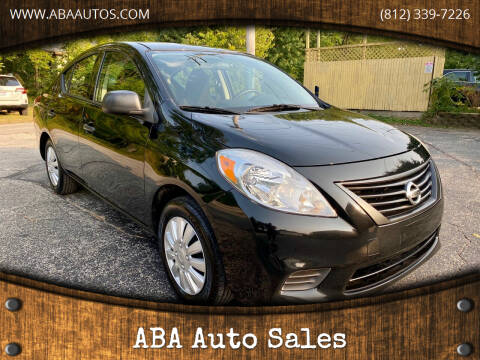 2014 Nissan Versa for sale at ABA Auto Sales in Bloomington IN