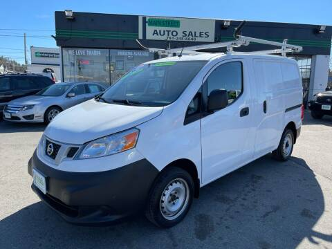 2015 Nissan NV200 for sale at Wakefield Auto Sales of Main Street Inc. in Wakefield MA