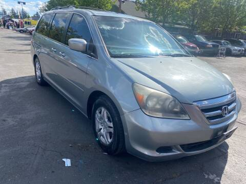 2006 Honda Odyssey for sale at Blue Line Auto Group in Portland OR