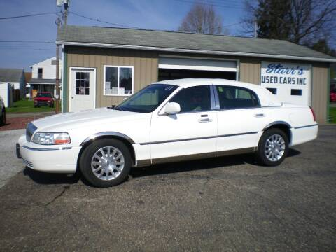 2007 Lincoln Town Car for sale at Starrs Used Cars Inc in Barnesville OH
