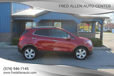 2016 Buick Encore for sale at Fred Allen Auto Center in Winamac IN