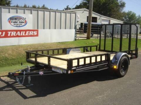 2021 77 X 12 PJ U7 for sale at Midwest Trailer Sales & Service in Agra KS