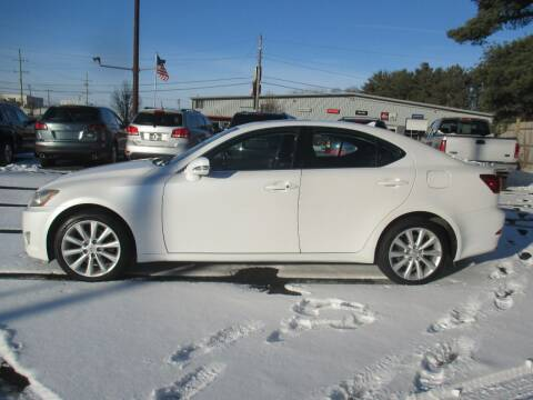 2009 Lexus IS 250 for sale at Home Street Auto Sales in Mishawaka IN