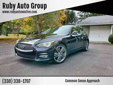 2014 Infiniti Q50 for sale at Ruby Auto Group in Hudson OH
