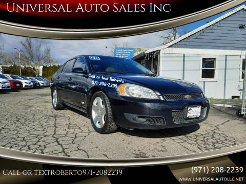 2008 Chevrolet Impala for sale at Universal Auto Sales Inc in Salem OR