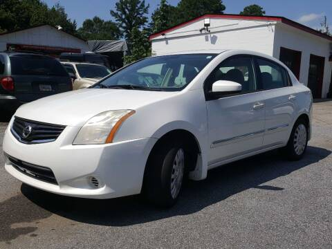 2012 Nissan Sentra for sale at Klassic Cars in Lilburn GA