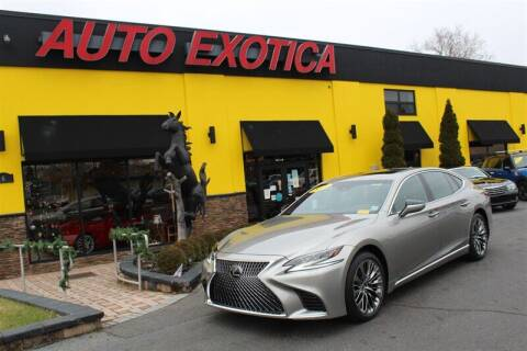 2018 Lexus LS 500 for sale at Auto Exotica in Red Bank NJ