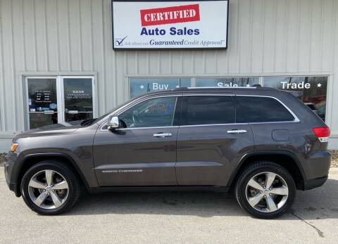 2014 Jeep Grand Cherokee for sale at Certified Auto Sales in Des Moines IA