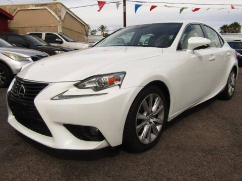 2014 Lexus IS 250 for sale at More Info Skyline Auto Sales in Phoenix AZ