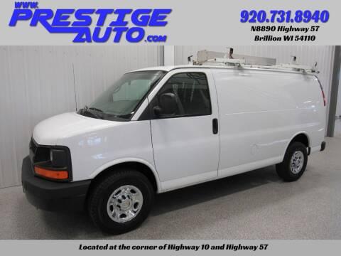 2011 Chevrolet Express Cargo for sale at Prestige Auto Sales in Brillion WI