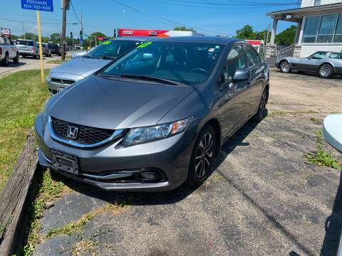 2013 Honda Civic for sale at Cowboy Incorporated in Waukegan IL