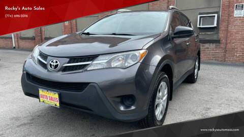 2013 Toyota RAV4 for sale at Rocky's Auto Sales in Worcester MA