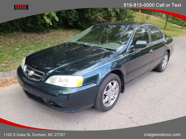 1999 Acura TL for sale at CRAIGE MOTOR CO in Durham NC