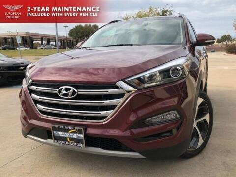 2017 Hyundai Tucson for sale at European Motors Inc in Plano TX