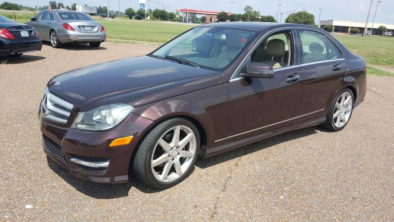 2012 Mercedes-Benz C-Class for sale at The Auto Toy Store in Robinsonville MS