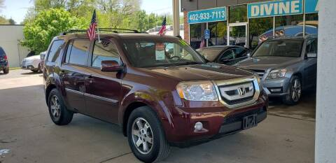 2010 Honda Pilot for sale at Divine Auto Sales LLC in Omaha NE