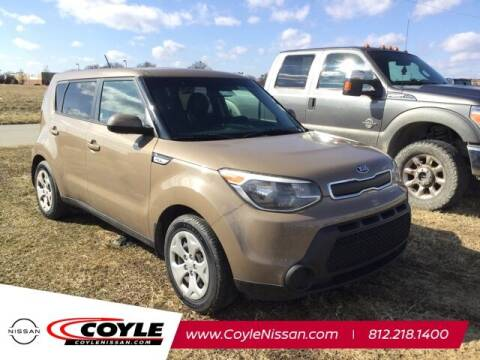 2015 Kia Soul for sale at COYLE GM - COYLE NISSAN - New Inventory in Clarksville IN