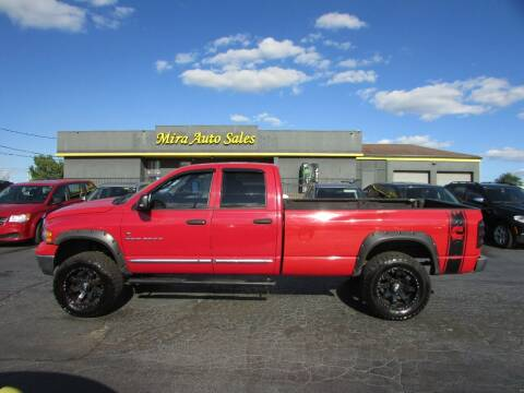 2005 Dodge Ram Pickup 2500 for sale at MIRA AUTO SALES in Cincinnati OH