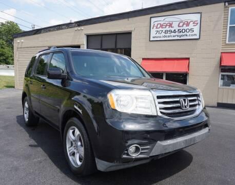 2012 Honda Pilot for sale at I-Deal Cars LLC in York PA