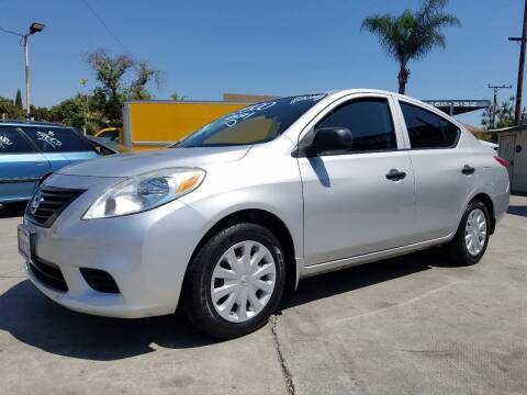 2014 Nissan Versa for sale at Olympic Motors in Los Angeles CA