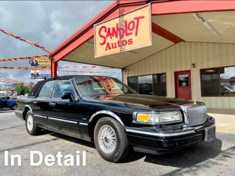 1995 Lincoln Town Car for sale at Sandlot Autos in Tyler TX