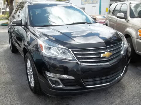 2015 Chevrolet Traverse for sale at PJ's Auto World Inc in Clearwater FL