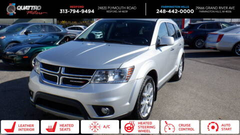 2014 Dodge Journey for sale at Quattro Motors 2 in Farmington Hills MI
