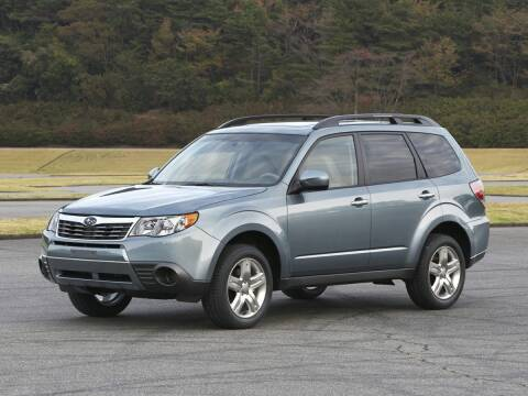 2010 Subaru Forester for sale at BARRYS Auto Group Inc in Newport RI