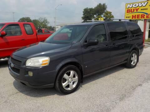 2008 Chevrolet Uplander for sale at SEBASTIAN AUTO SALES INC. in Terre Haute IN