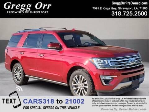 2018 Ford Expedition for sale at Gregg Orr Pre-Owned Shreveport in Shreveport LA