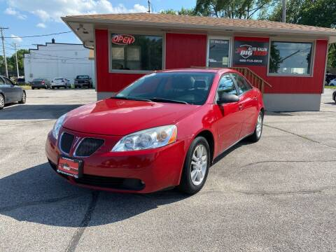 2006 Pontiac G6 for sale at Big Red Auto Sales in Papillion NE