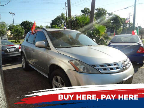 2005 Nissan Murano for sale at Northtown Auto Center in Houston TX