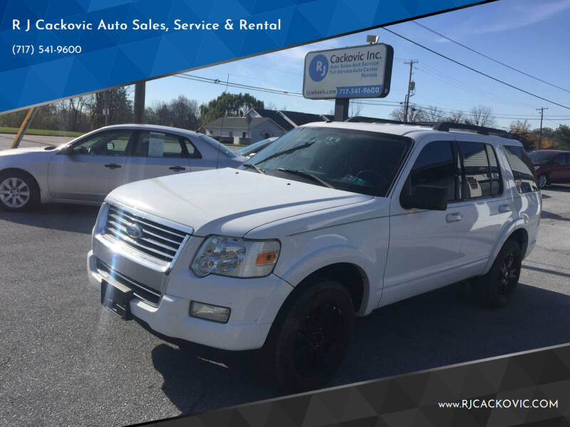 2010 Ford Explorer for sale at R J Cackovic Auto Sales, Service & Rental in Harrisburg PA