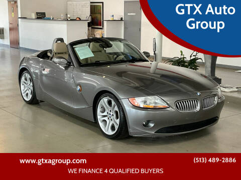 2003 BMW Z4 for sale at GTX Auto Group in West Chester OH