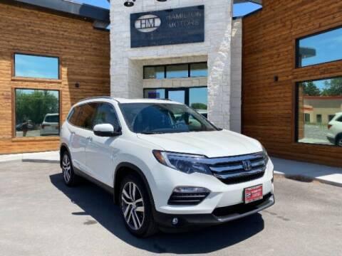 2017 Honda Pilot for sale at Hamilton Motors in Lehi UT