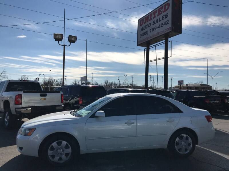 2006 Hyundai Sonata for sale at United Auto Sales in Oklahoma City OK